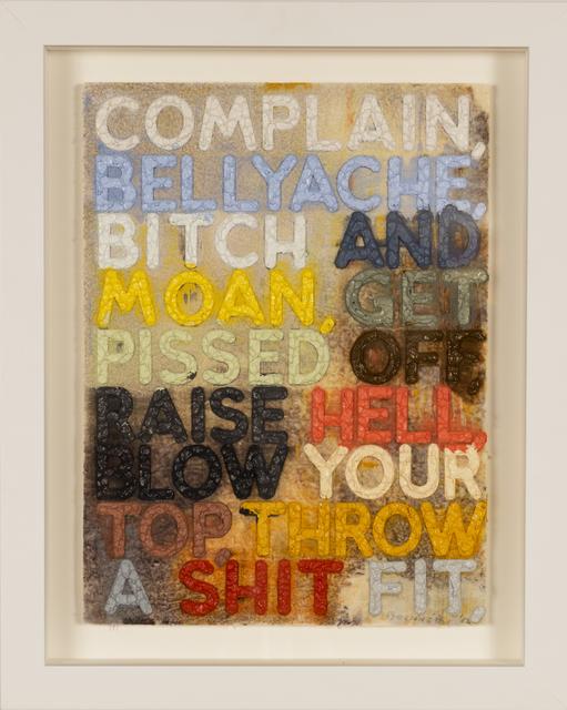 , 'Complain,' 2012, Taylor | Graham