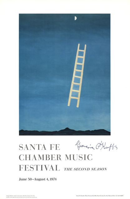 Georgia O'Keeffe, 'Ladder to the Moon', 1974, ArtWise