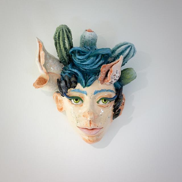 , 'Tête murale,' 2018, Antonine Catzéflis