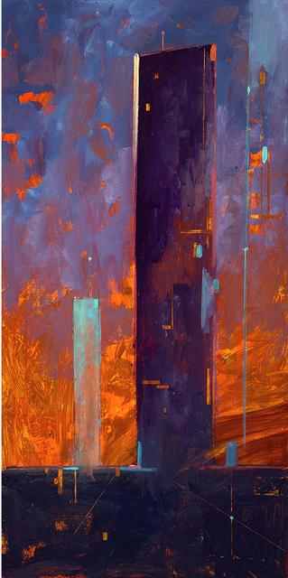 , 'The Black Tower,' 2018, Sue Greenwood Fine Art