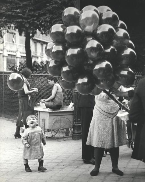 , 'Le premier ballon, au parc Montsouris ou feignait le douanier Rousseau, Paris,' 1931-1932, Charles A. Hartman Fine Art