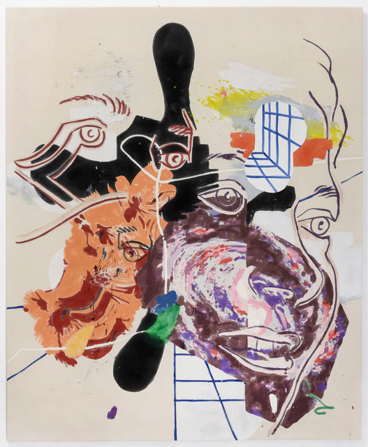 Chris Hood, 'Liquid Night', 2020, Painting, Alkyd on canvas, Eduardo Secci Contemporary