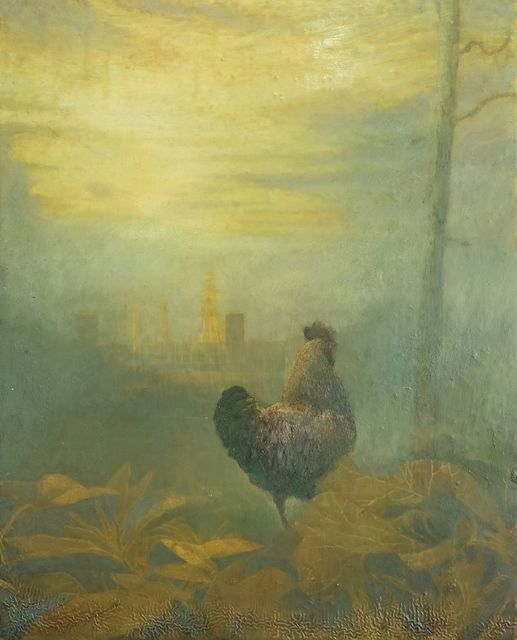 , 'Cockerel,' 2016, Charlie Smith London