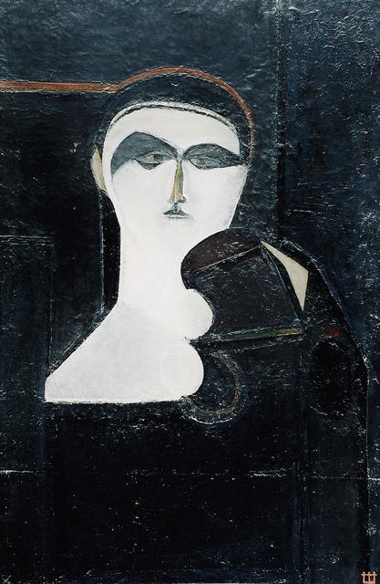 Marlen Spindler, 'Portrait', 1959, Painting, Oil on canvas, Nadja Brykina Gallery