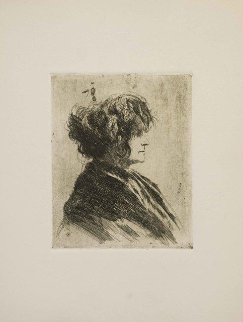 Joseph Stella, 'Portrait of a Hatless Woman', 1960, The Munn Collection