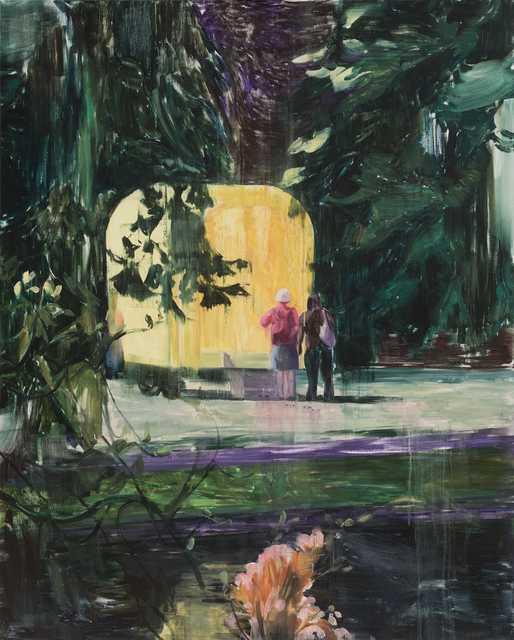 , '黄色的房间A A Yellow Room A,' 2017, Matthew Liu Fine Arts
