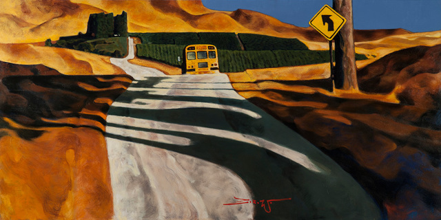 , 'Bus Ride Home,' 2018, Patricia Rovzar Gallery