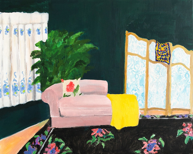 , 'Dressing Room...Versace Scarf ,' 2018, Tillou Fine Art