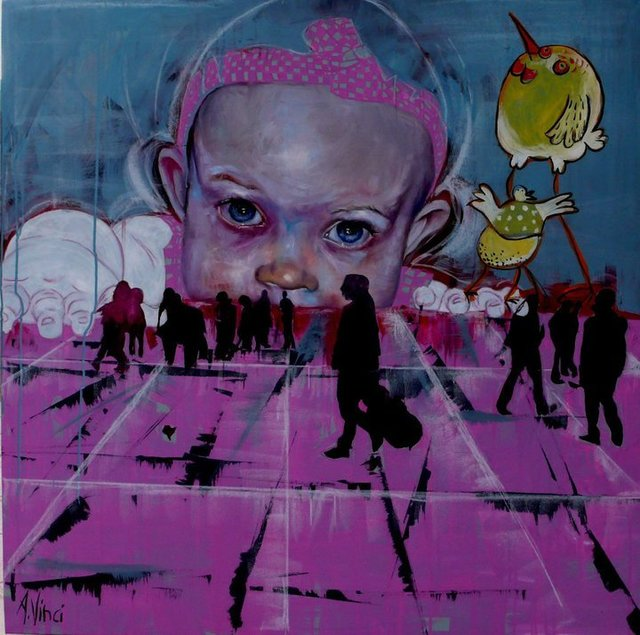 , 'In the square,' 2010, Magreen Gallery