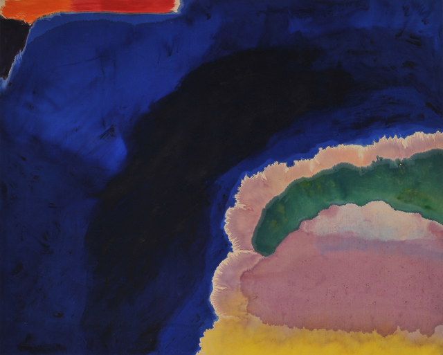 , 'Blue Wall,' 1970, Stux Gallery
