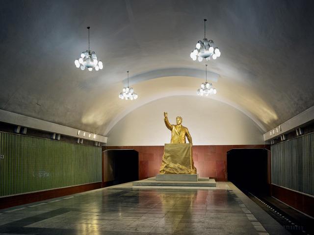 , 'Adressing the Citizens of Pyongyang (Metro Pyongyang),' 2014, The Ravestijn Gallery