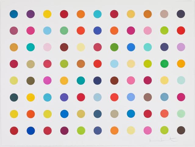 Damien Hirst, 'M-Fluorobenzylamine', 2018, Zeit Contemporary Art