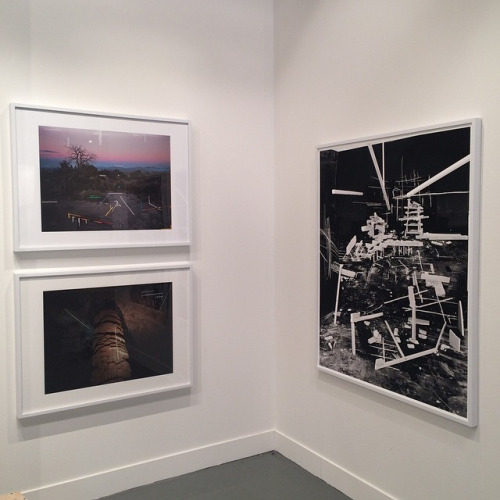 Rodrigo Valenzuela works; two from the Negative Concord series (2015) and one from Hedonic Reversal (2014).