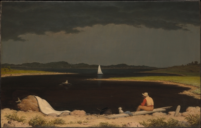 Martin Johnson Heade, 'Approaching Thunder Storm', 1859, The Metropolitan Museum of Art