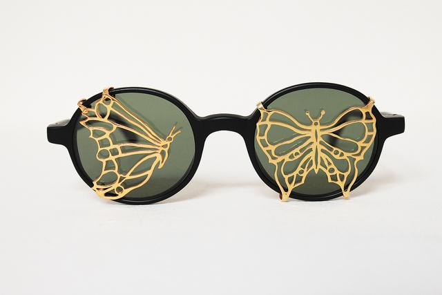 , 'Maskhara with Butterflies,' 2014, Elisabetta Cipriani