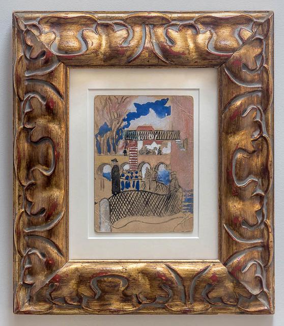 Serge Férat, 'Recto: Lemon Cutters, Verso: Street Scene', Fromkin Fine Art