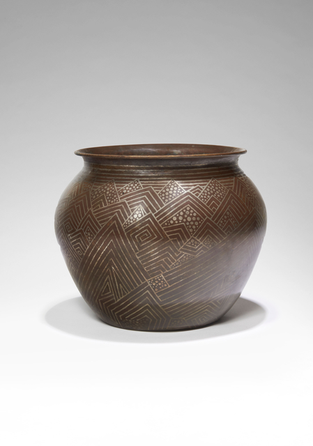 , 'Spherical Vase,' ca. 1920, Galerie Marcilhac