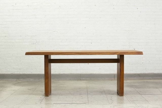 , 'Solid elm rectangular table,' ca. 1950, Magen H Gallery