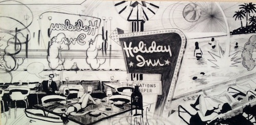 , 'Holiday Inn,' 2014, Jealous Gallery