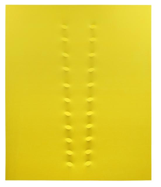 Turi Simeti, '22 ovali gialli', 2016, Dep Art Gallery