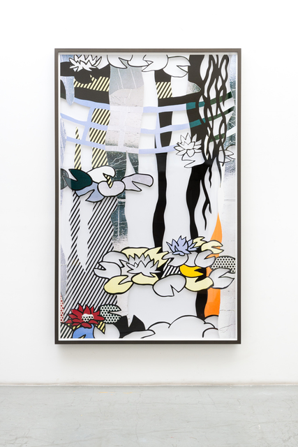 Jose Dávila, 'Untitled (Water Lilies with Japanese Bridge)', 2019, Galería OMR