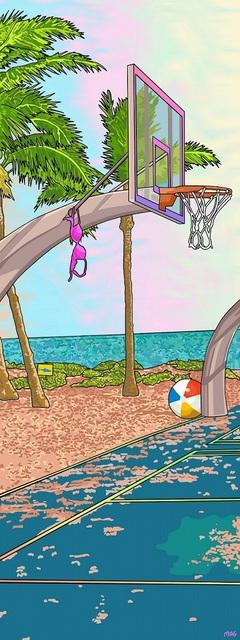 , 'Beach Ball,' 2018, Vellum Projects