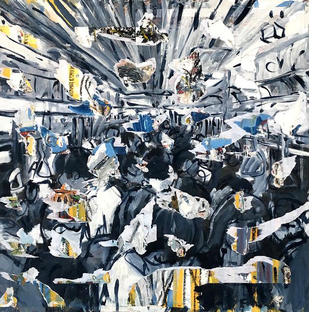 Andrea Sbra Perego, 'Deconstruction#10 (payne gray)', 2019, Name1