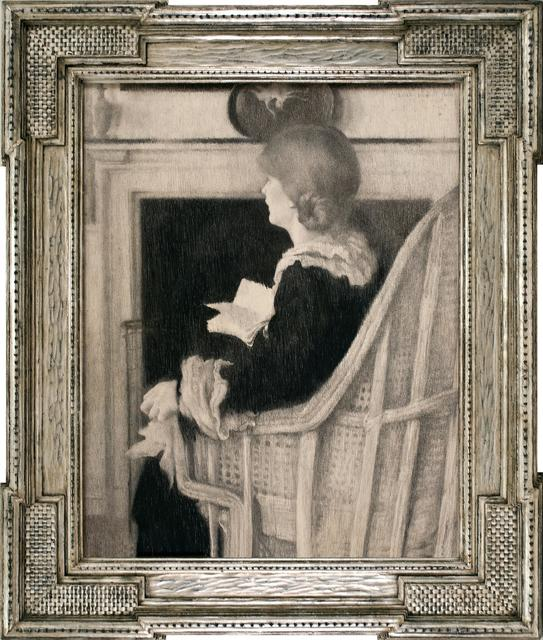 Lilian Westcott Hale, 'Book of Verses', 1924, Adelson Cavalier Galleries