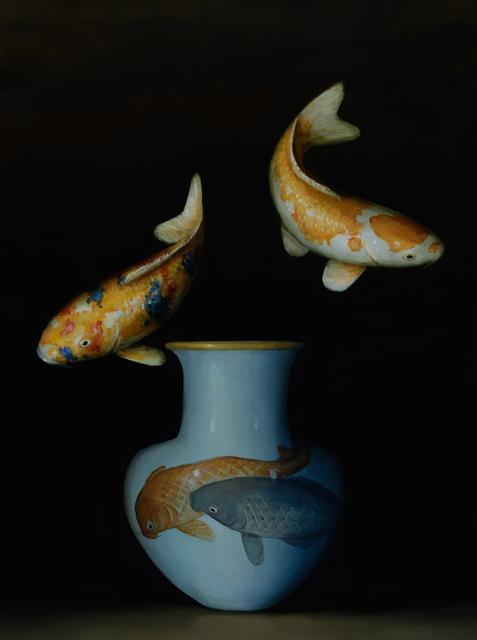 , 'Two Koi (Two Koi),' 2017, Lisa Sette Gallery