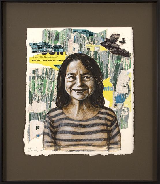 , 'Preparatory Dolores Huerta as Van Gogh's Gardener ,' 2018, Blue Rain Gallery