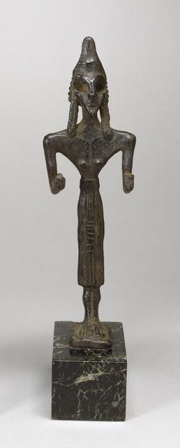 'Female Votive Figurine of Anat', Early 2nd millennium B.C., Walters Art Museum