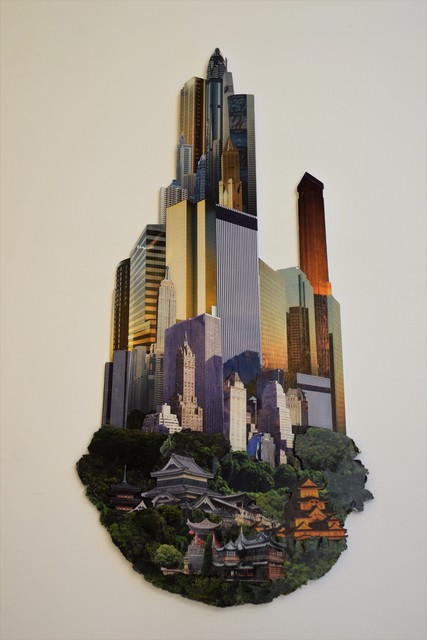 , 'FUTURE CITY  2,' 2013, VILTIN Gallery