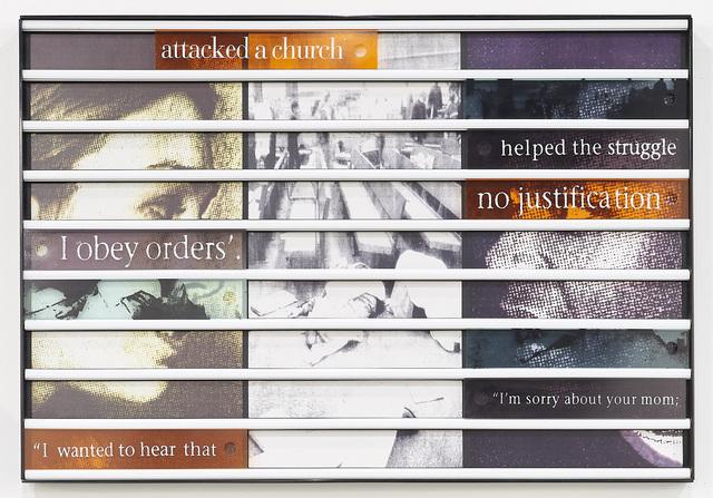 , 'Truth Games: Liezl Ackermann – not a church – Gcinikhaya Makoma,' 1998, Goodman Gallery