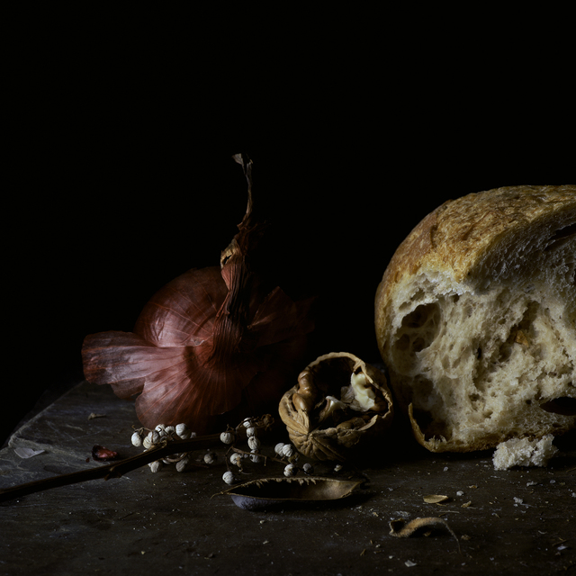 , 'Still Life with Red Onion, Walnut and Bread,' , Pucker Gallery