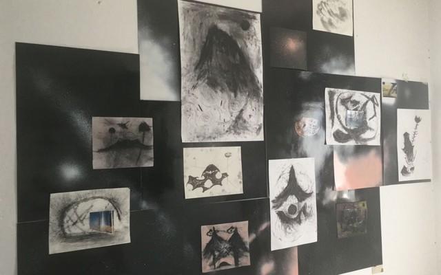 , 'Permanente y volátil,' 2017, Barro