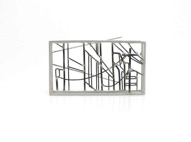 , 'Downtown Landscape Brooch,' , Facèré Jewelry Art Gallery
