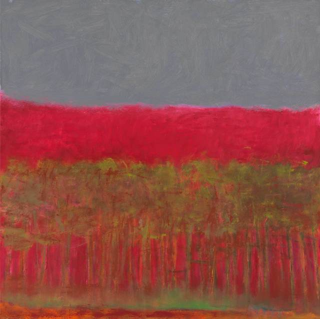 , 'Red Tree Square,' 2009, Tayloe Piggott Gallery