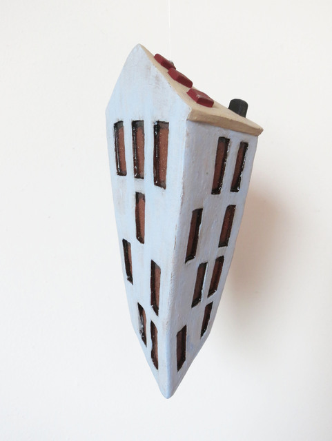 , 'Apartment Building (blue),' 2018, BoxHeart