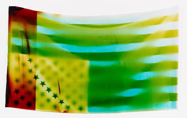 , 'Flag 2,' 2017, Danziger Gallery