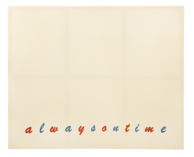 , 'Always on time,' 2008, Galerie Emmanuel Hervé