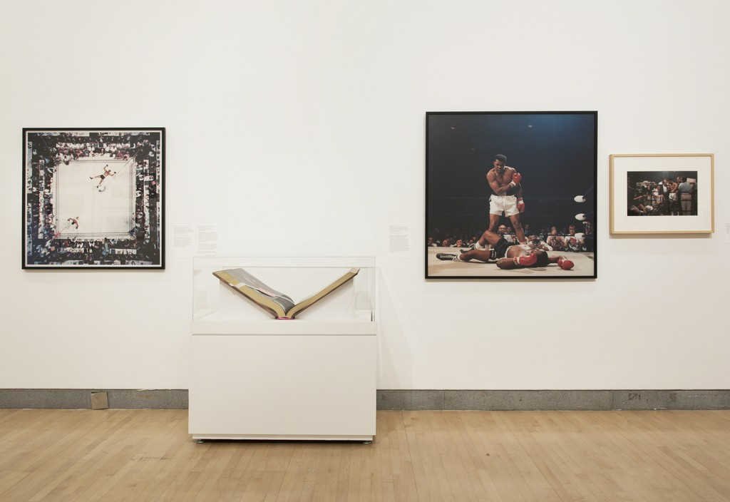 "Installation view of ""Who Shot Sports: A Photographic History, 1843 to the Present"" at Brooklyn Museum, New York (2016) © Jonathan Dorado"