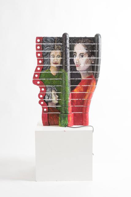 , 'Portrait Lamp,' 2016, Galleria Ca' d'Oro