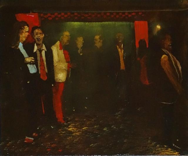 , 'Low Down in the Checker Bar,' 2017, Galerie de Bellefeuille