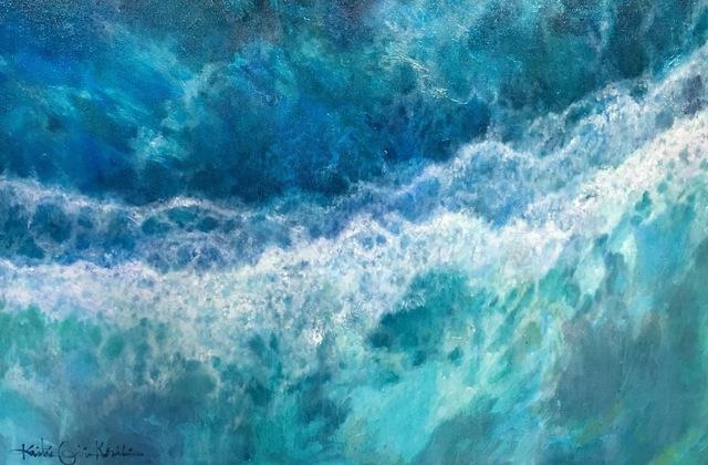 , 'Ocean,' 2017, Tiffany's Art Agency