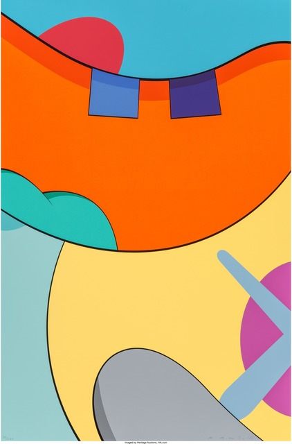 KAWS, 'Untitled, from the No Reply portfolio', 2015, Print, Screenprint in colors on wove paper, Heritage Auctions