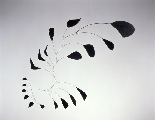 Alexander Calder, 'Vertical Foliage', 1941, Sculpture, Sheet metal, wire, and paint, Calder Foundation