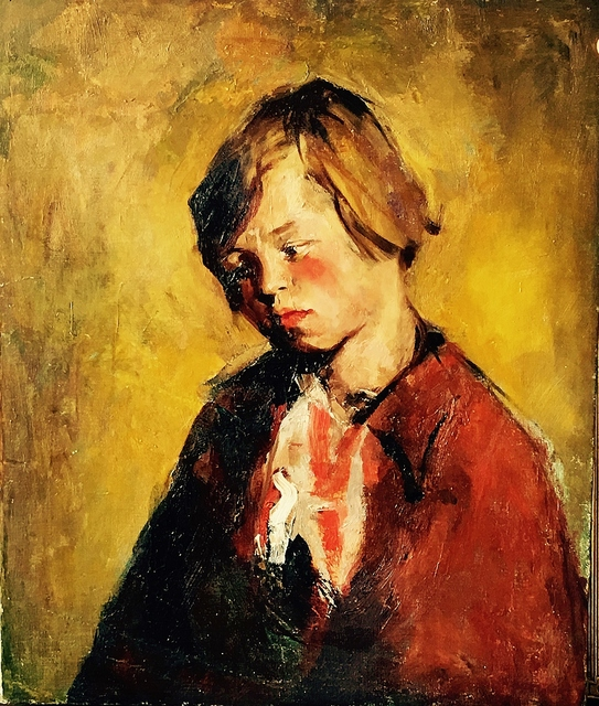 , 'Young Boy,' 1920-1925, Lawrence Fine Art