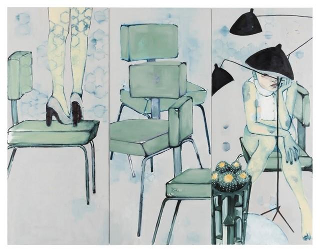 , 'Neutra's Legs Eleven (Triptych),' 2017, Galerie Huit