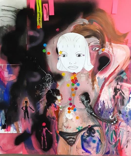 , 'Sad Queen,' 2018, Robert Kananaj Gallery