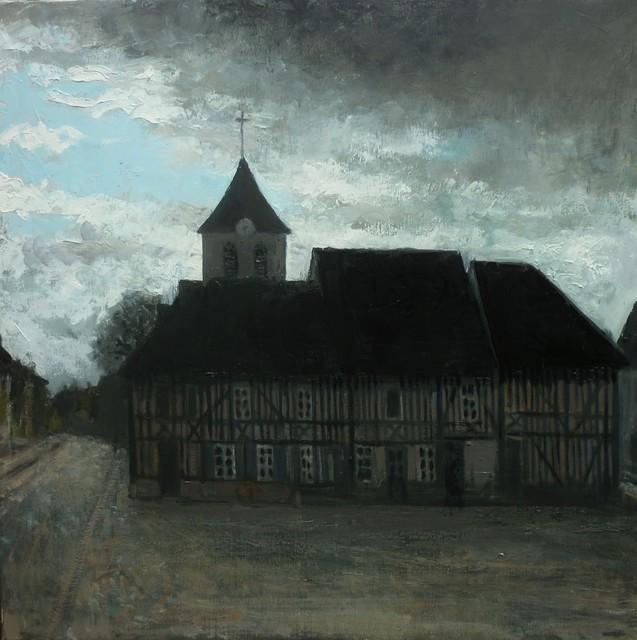 , 'La place du village,' , Hugo Galerie